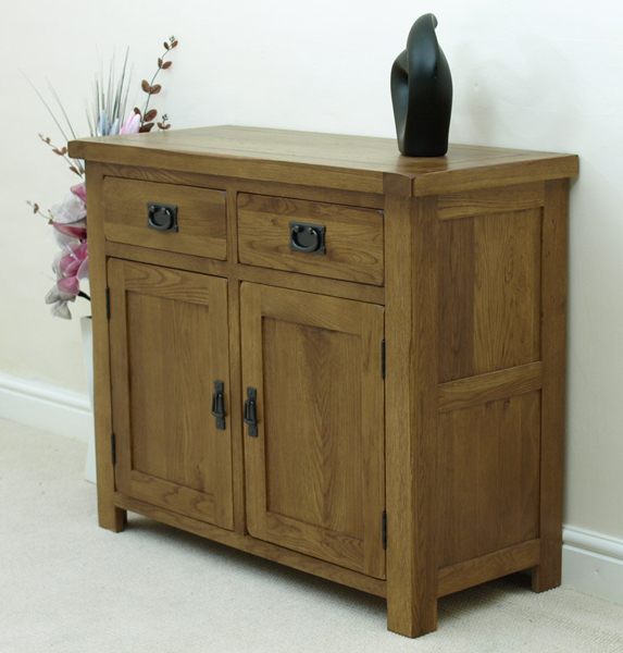 sideboard the cotswold rustic small oak sideboard is the ideal piece
