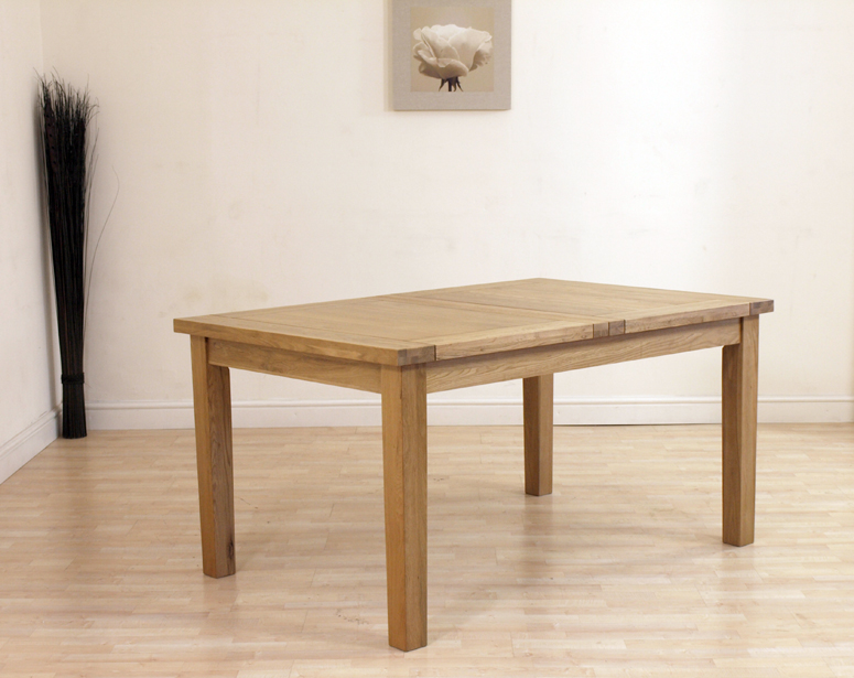 EXTENDING OAK DINING TABLE AND 6 RED LEATHER CHAIRS eBay : extender1 from ebay.co.uk size 775 x 615 jpeg 301kB