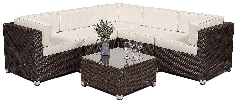 Garden Furniture Corner Sofa savannah rattan corner sofa set outdoor garden furniture including